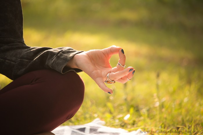 Meditation Mudra || Mandala Soul Designs