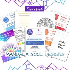 Chakras, Mandalas & Crystal Grids ebook || Mandala Soul Designs
