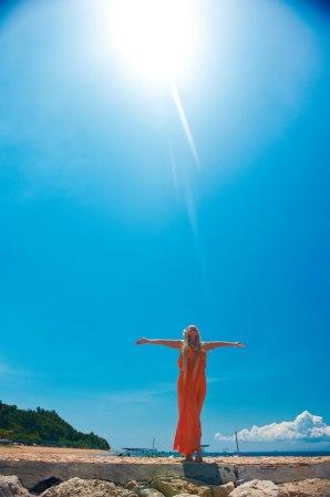 я бали с солнцем