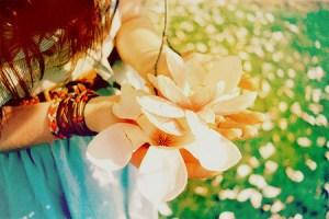 подарок цветок