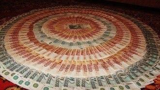 изобилие мандала денег