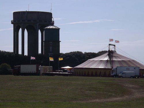Southwold Common big top