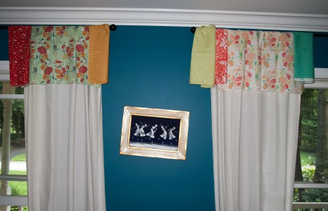 Valances to be made… pondering color options