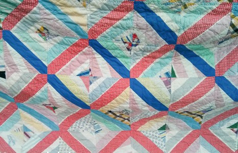 Quilting and Family–Great Gramma's Quilts (episode 1) and a free pattern