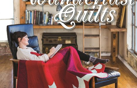 Wanderlust Quilts, my book, is on Amazon!
