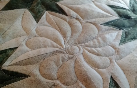 How to quilt a Hunter Star quilt, tutorial