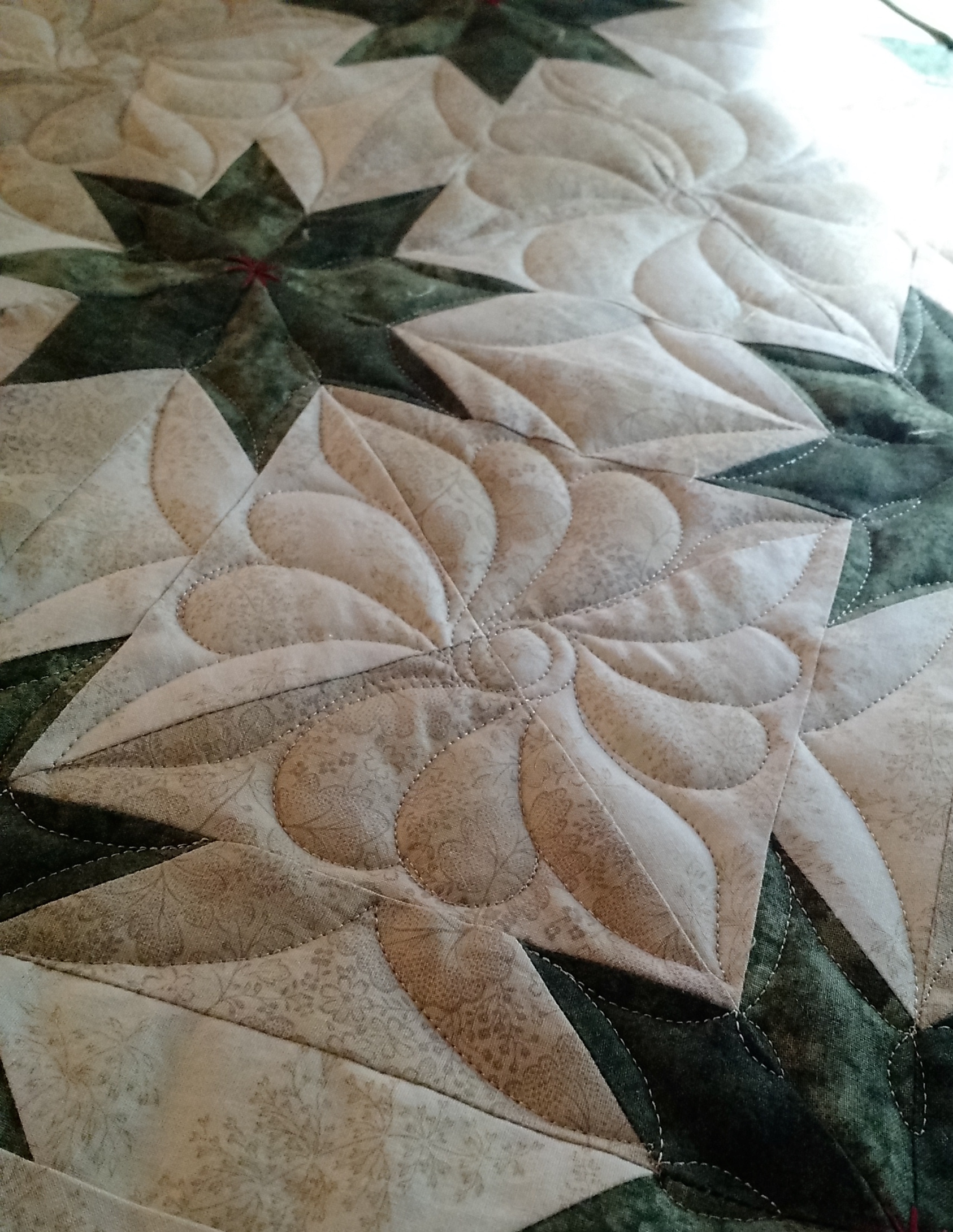 How To Quilt A Hunter Star Quilt Tutorial Mandalei Quilts