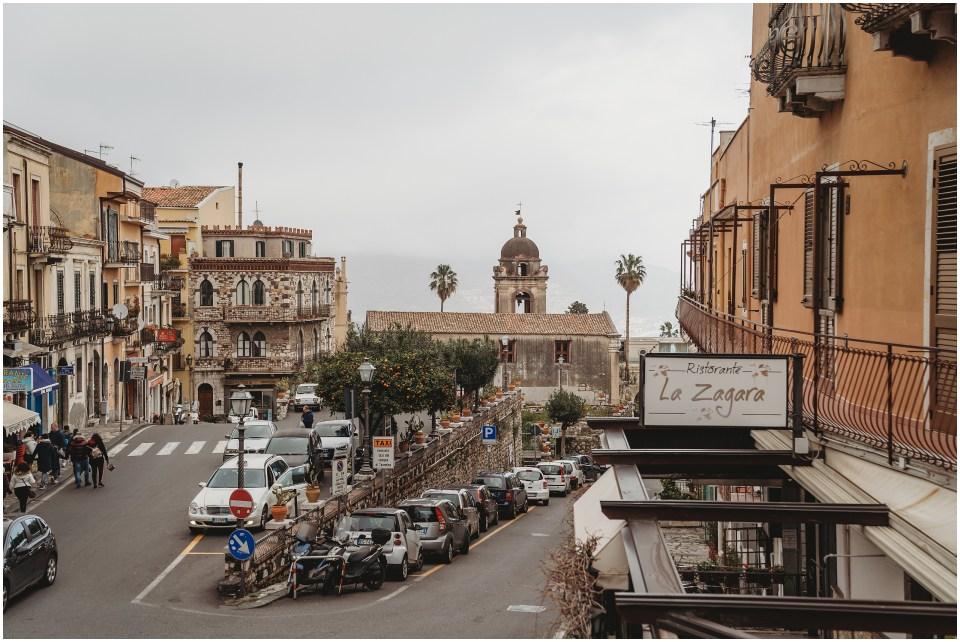 sicily views in taormina