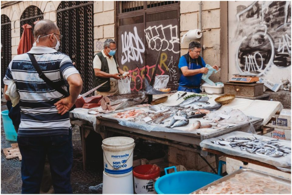 Visiting La Pescheria in Catania - Catania fish market