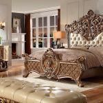 King Size Solid Teak Wood Bedroom Furniture Mandap Exporters