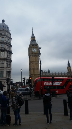 The clock tower of Big Ben :D