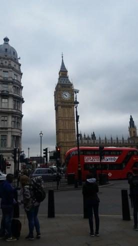 The clock tower of Big Ben :D