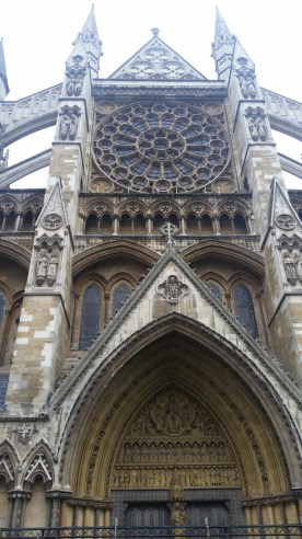Westminster Abbey front