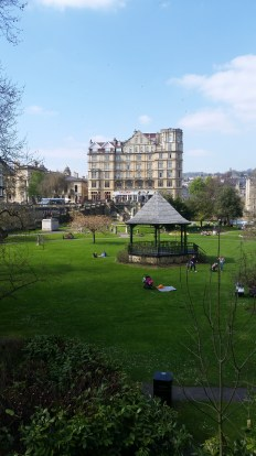Beautiful garden in the centre of Bath