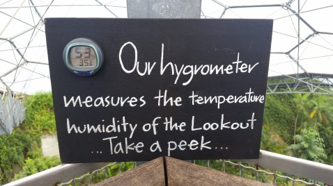 It can get very hot at the top of the biomes