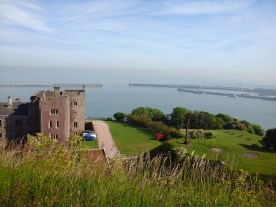 View overlooking Dover harbour