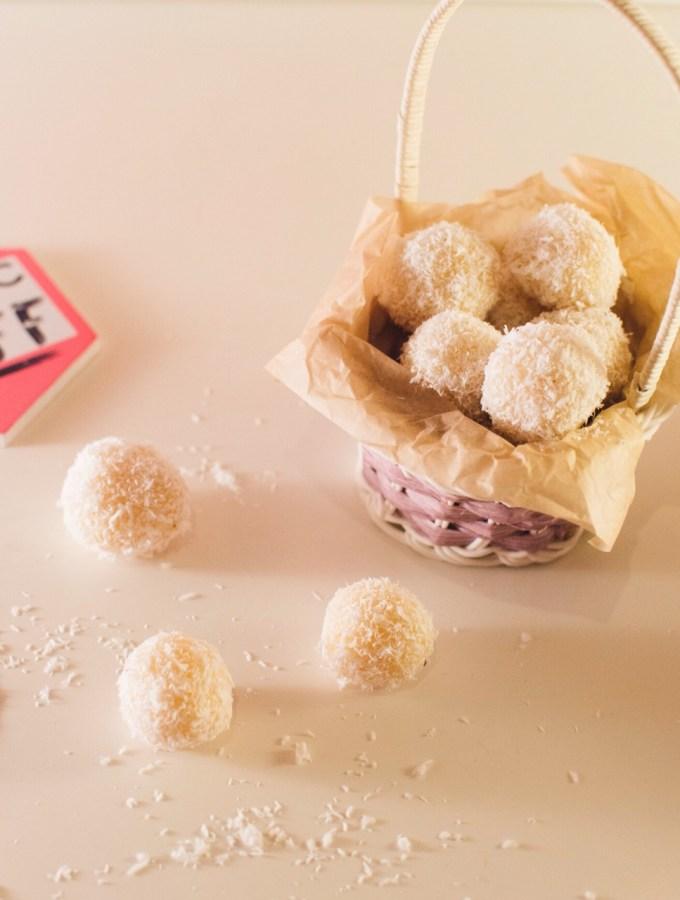 A little piece of heaven – Sweetened condensed milk truffles