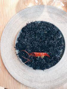 Marinated sweet shrimp