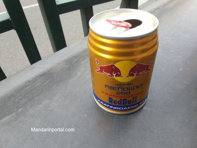 fake Thai Red Bull In China a