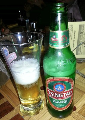 Tsingtao Beer And Bottle