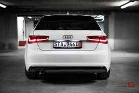 Vue arrière de l'Audi A3 vendue par Francis Clotilde