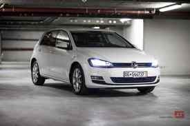 Volkswagen Golf 7 blanche vendue par Francis Clotilde