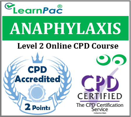 Anaphylaxis Training Course - Level 2 - Online CPD Accredited Course