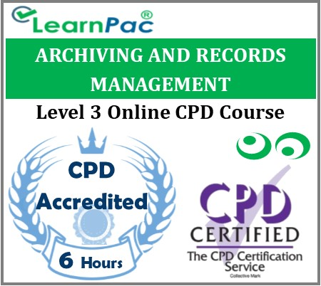 Archiving and Records Management – Online Training & Certification 1