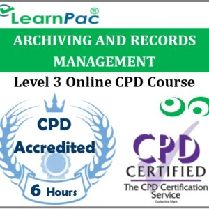 Archiving and Records Management - Online Training & Certification