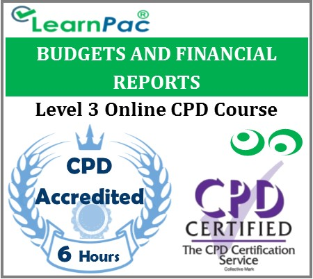 Budgets And Financial Reports – Online Training & Certification 1