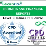 Budgets And Financial Reports – Online Training & Certification