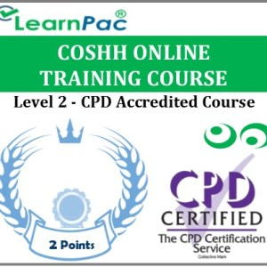 COSHH Online Training Course - Level 2 - CPD Accredited E-Learning Course