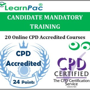 Candidate Mandatory Training – 20 Online CPD Accredited & CQC Aligned Courses - MTG