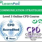Communication Strategies – Online Training & Certification