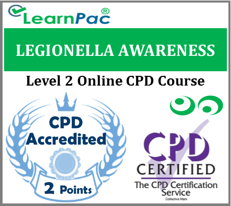 Legionella & Legionnaires Awareness Training - Level 2 Online CPD Accredited Course