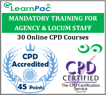 Mandatory Training for Agency & Locum Staff – 30 CPD Accredited Online Courses 1