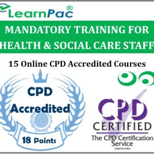 Mandatory Training for Health & Social Care Staff (15 Online CPD Courses) - CQC Compliant - MTG