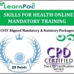 Skills for Health CSTF Aligned Mandatory & Statutory Training Courses