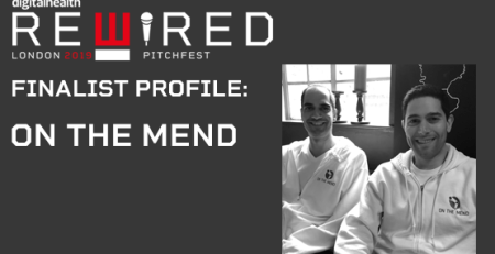 Digital Health Rewired Pitchfest 2019 finalist profile On The Mend The Mandatory Training Group UK -