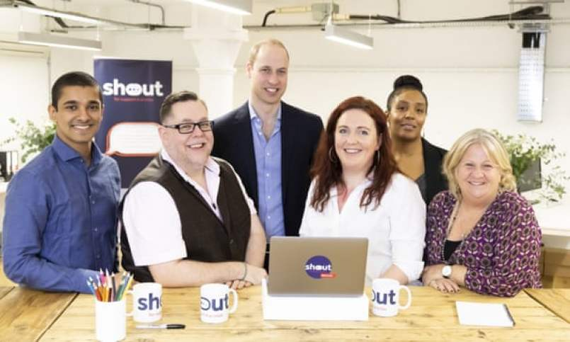 Mental health text support service Shout launched by royals - The Mandatory Training UK -