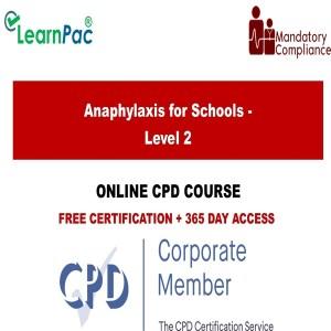 Anaphylaxis for Schools - Level 2 - Mandatory Training Group UK -