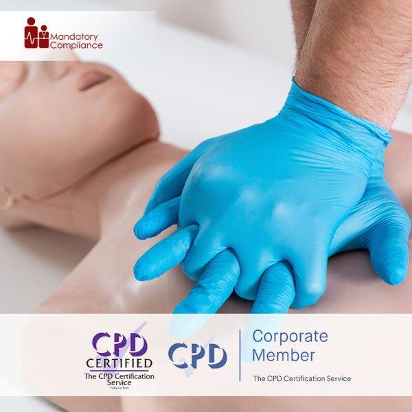 Basic Life Support – Level 2 – Online Training Course – CPDUK Accredited – Mandatory Compliance UK –