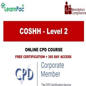 COSHH - Level 2 - The Mandatory Training Group UK -