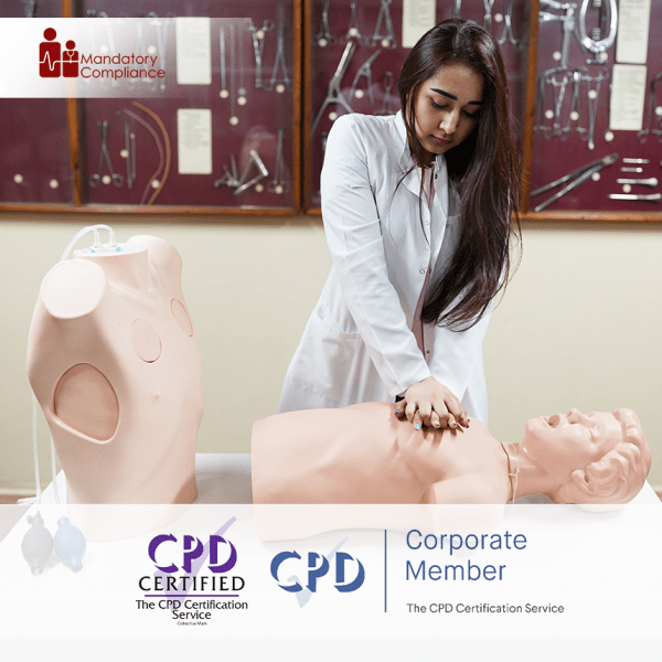 Care Certificate Standard 12 – Online Training Course – CPD Accredited – Mandatory Compliance UK –