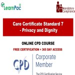 Care Certificate Standard 7 - Privacy and Dignity - The Mandatory Training Group UK -