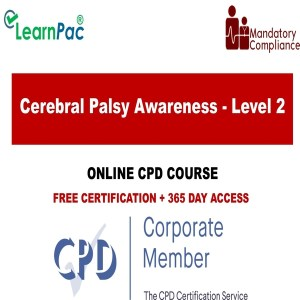 Cerebral Palsy Awareness - Level 2 - The Mandatory Training Group UK -