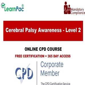 Cerebral Palsy Awareness - Level 2 - The Mandatory Training Group UK -