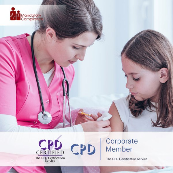 Child Immunisation – Level 3 – Online Training Course – CPDUK Accredited – Mandatory Compliance UK –