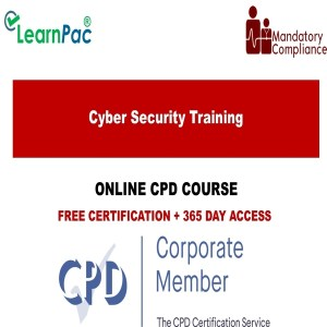 Cyber Security Training - Online Training Course - Mandatory Training Group UK -