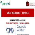 Dual Diagnosis - Level 2 - Mandatory Training Group UK -